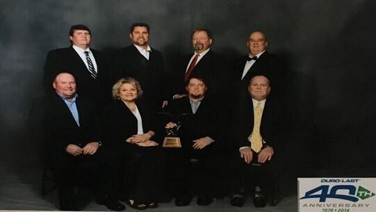 DuroLast Eagle Award 2017 BM Roofing Contractors